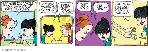 Comic Strip Signe Wilkinson  Family Tree 2011-07-16 today