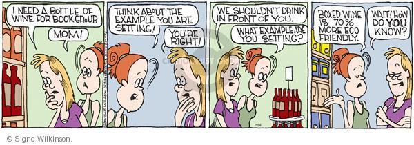 Comic Strip Signe Wilkinson  Family Tree 2011-07-26 child behavior