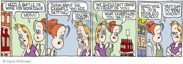 Comic Strip Signe Wilkinson  Family Tree 2011-07-26 parenthood