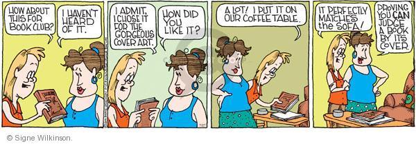 Comic Strip Signe Wilkinson  Family Tree 2011-07-27 read