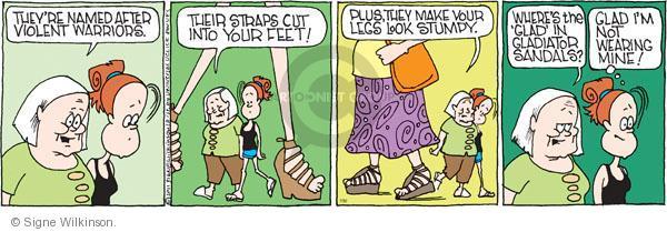 Cartoonist Signe Wilkinson  Family Tree 2011-07-30 name