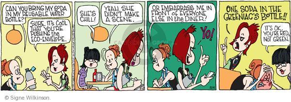 Comic Strip Signe Wilkinson  Family Tree 2011-08-04 chill