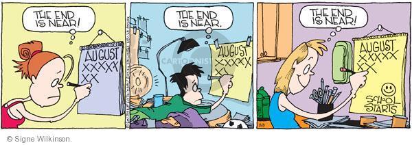 Comic Strip Signe Wilkinson  Family Tree 2011-08-08 education