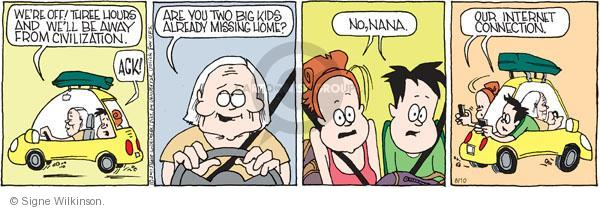 Comic Strip Signe Wilkinson  Family Tree 2011-08-10 internet