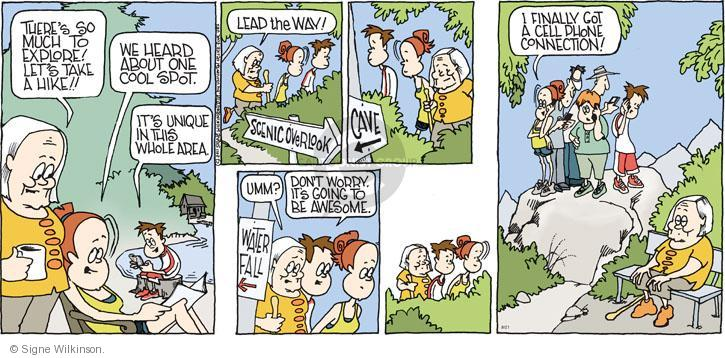 Comic Strip Signe Wilkinson  Family Tree 2011-08-21 don't