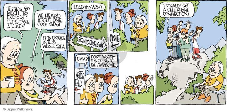 Comic Strip Signe Wilkinson  Family Tree 2011-08-21 lead
