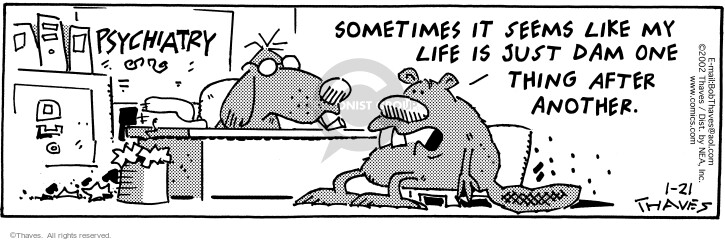 Comic Strip Bob Thaves Tom Thaves  Frank and Ernest 2002-01-21 effort