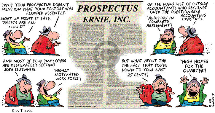 Comic Strip Bob Thaves Tom Thaves  Frank and Ernest 2002-02-24 employee