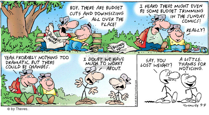 Comic Strip Bob Thaves Tom Thaves  Frank and Ernest 2002-05-05 hear