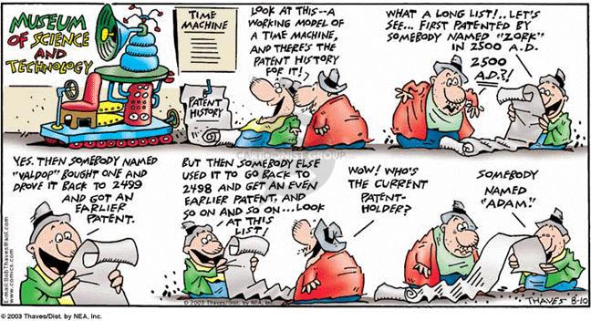 Comic Strip Bob Thaves Tom Thaves  Frank and Ernest 2003-08-10 ERA