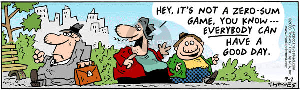 Comic Strip Bob Thaves Tom Thaves  Frank and Ernest 2003-09-02 mood