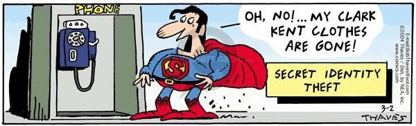 Comic Strip Bob Thaves Tom Thaves  Frank and Ernest 2004-03-02 secret
