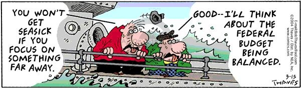 Comic Strip Bob Thaves Tom Thaves  Frank and Ernest 2004-03-15 focus