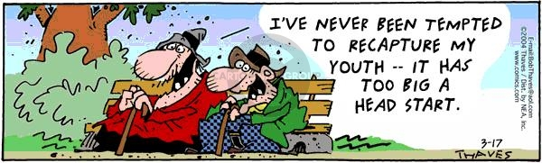 Comic Strip Bob Thaves Tom Thaves  Frank and Ernest 2004-03-17 temptation
