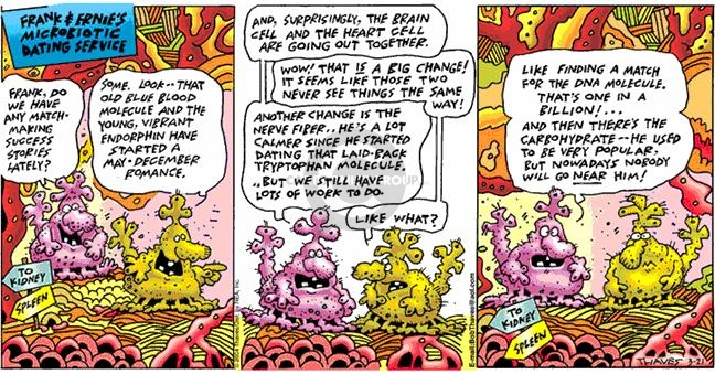 Comic Strip Bob Thaves Tom Thaves  Frank and Ernest 2004-03-21 affectionate