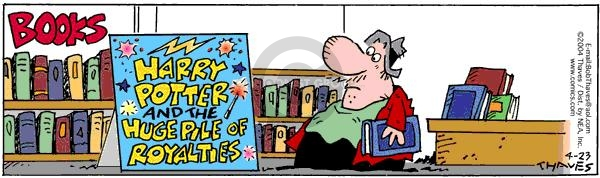 Comic Strip Bob Thaves Tom Thaves  Frank and Ernest 2004-04-23 pile