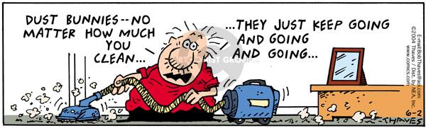 Comic Strip Bob Thaves Tom Thaves  Frank and Ernest 2004-06-02 home maintenance