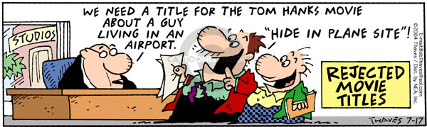 Comic Strip Bob Thaves Tom Thaves  Frank and Ernest 2004-07-17 site