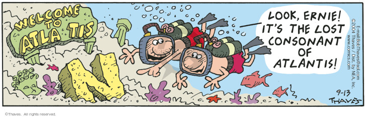 Comic Strip Bob Thaves Tom Thaves  Frank and Ernest 2004-09-13 oxygen
