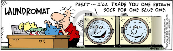 Comic Strip Bob Thaves Tom Thaves  Frank and Ernest 2004-10-09 appliance
