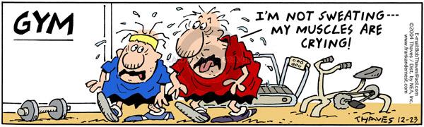 Comic Strip Bob Thaves Tom Thaves  Frank and Ernest 2004-12-23 moisture