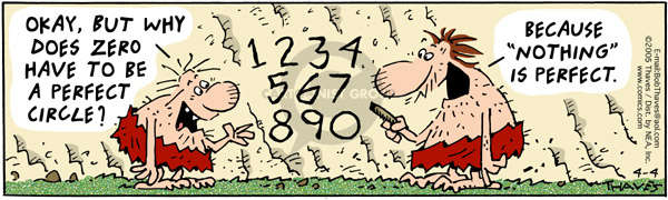 Comic Strip Bob Thaves Tom Thaves  Frank and Ernest 2005-04-04 math