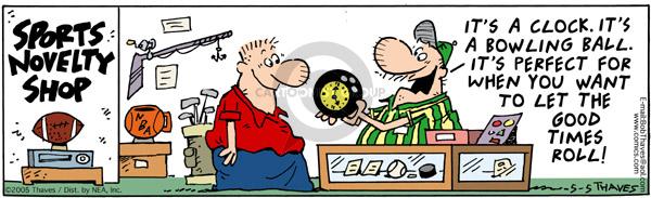 Cartoonist Bob Thaves Tom Thaves  Frank and Ernest 2005-05-05 good
