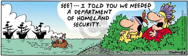 Cartoonist Bob Thaves Tom Thaves  Frank and Ernest 2005-06-14 border