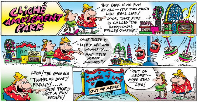 Comic Strip Bob Thaves Tom Thaves  Frank and Ernest 2005-09-04 mood