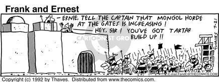 Comic Strip Bob Thaves Tom Thaves  Frank and Ernest 1992-07-21 hygiene
