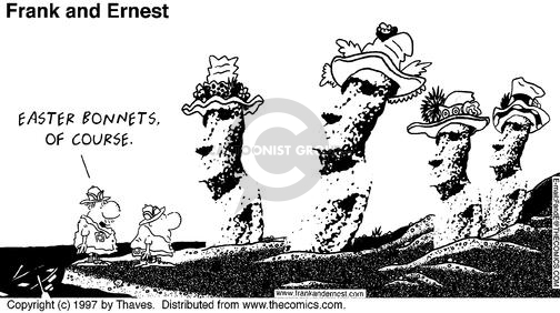 Comic Strip Bob Thaves Tom Thaves  Frank and Ernest 1997-03-30 headwear