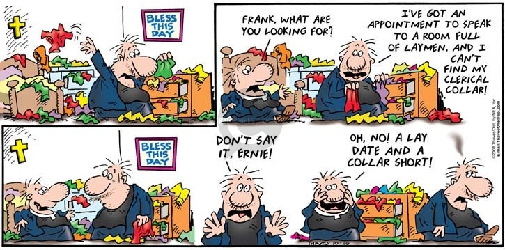Comic Strip Bob Thaves Tom Thaves  Frank and Ernest 2008-10-26 messy
