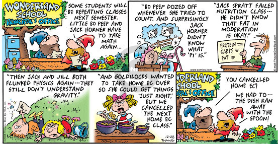 Comic Strip Bob Thaves Tom Thaves  Frank and Ernest 2008-12-28 math science