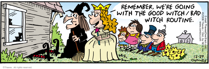 Comic Strip Bob Thaves Tom Thaves  Frank and Ernest 2008-12-29 wizard