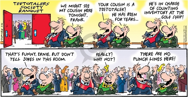 Comic Strip Bob Thaves Tom Thaves  Frank and Ernest 2009-02-22 total
