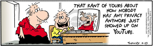 Comic Strip Bob Thaves Tom Thaves  Frank and Ernest 2009-04-23 anymore