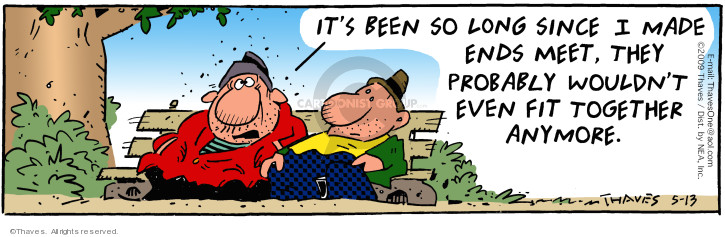 Comic Strip Bob Thaves Tom Thaves  Frank and Ernest 2009-05-13 made