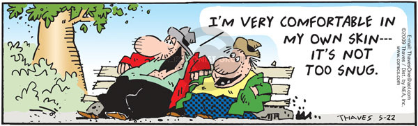 Comic Strip Bob Thaves Tom Thaves  Frank and Ernest 2009-05-22 loose