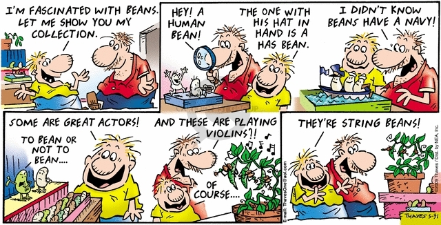 Comic Strip Bob Thaves Tom Thaves  Frank and Ernest 2009-05-31 string