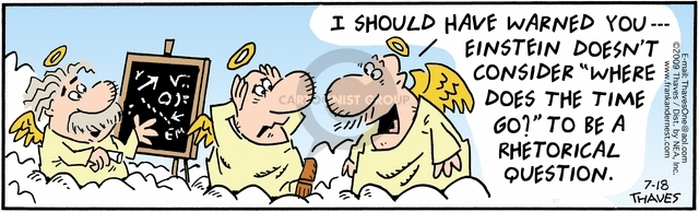 Comic Strip Bob Thaves Tom Thaves  Frank and Ernest 2009-07-18 question