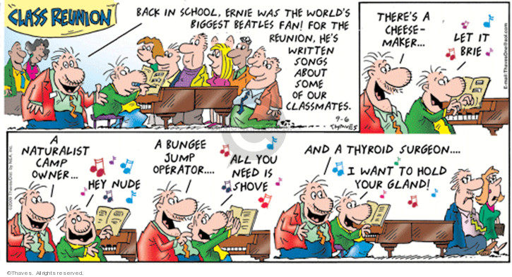 Comic Strip Bob Thaves Tom Thaves  Frank and Ernest 2009-09-06 revision