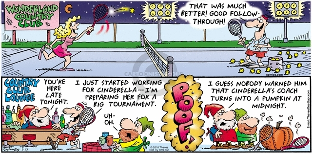 Comic Strip Bob Thaves Tom Thaves  Frank and Ernest 2010-01-17 country