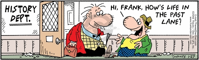 Comic Strip Bob Thaves Tom Thaves  Frank and Ernest 2010-01-27 college teacher