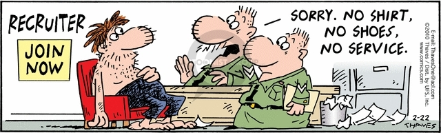 Comic Strip Bob Thaves Tom Thaves  Frank and Ernest 2010-02-22 standard