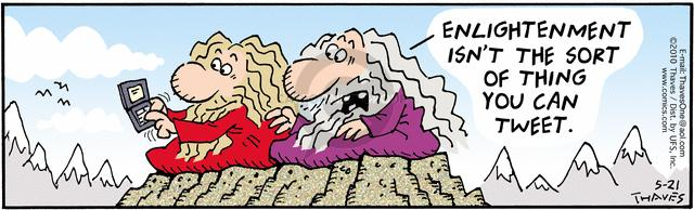 Comic Strip Bob Thaves Tom Thaves  Frank and Ernest 2010-05-21 instant