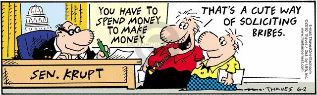 Comic Strip Bob Thaves Tom Thaves  Frank and Ernest 2010-06-02 solicitation