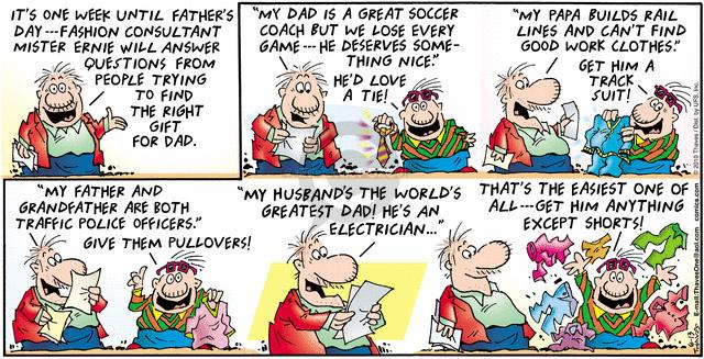 Comic Strip Bob Thaves Tom Thaves  Frank and Ernest 2010-06-13 electrical
