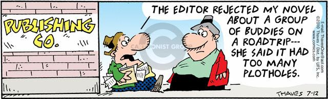 Comic Strip Bob Thaves Tom Thaves  Frank and Ernest 2010-07-12 book editor