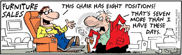 Comic Strip Bob Thaves Tom Thaves  Frank and Ernest 2010-07-30 chair