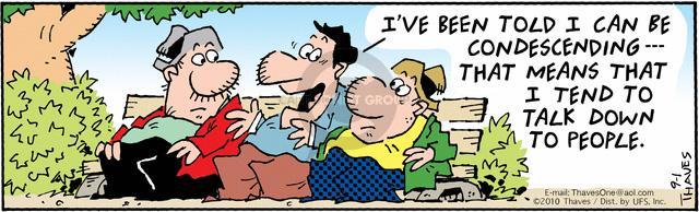 Cartoonist Bob Thaves Tom Thaves  Frank and Ernest 2010-09-01 inferior